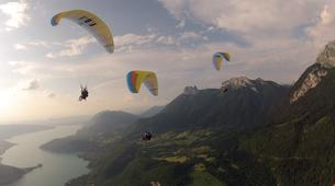 Paragliding-Annecy-Tandem paragliding above Annecy-2