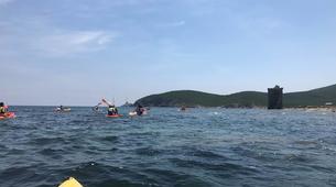 Sea Kayaking-L'Île-Rousse-Sea kayaking excursion from Lozari Beach, Corsica-4