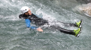 Canyoning-Lechtal-White water swimming, Lechtal-4