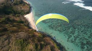 Paragliding-Nusa Dua-Tandem Paragliding flight from Timbis Beach around Nusa Dua, Bali-6