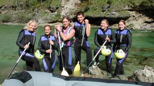 Rafting-Gesäuse National Park-Rafting on the Salza in the Gesäuse National Park-2