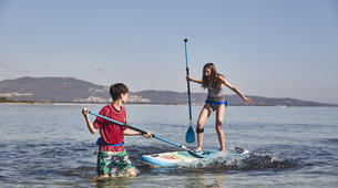 Stand up Paddle-Barcelona-SUP rental at Castelldefels Beach near Barcelona-4