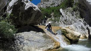 Canyoning-Aude-Canyon Débutant des Gorges de Galamus, dans l'Aude-6