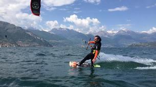 Kitesurf-Lac de Côme-Beginner kitesurf course 5 hours in Lake Como-1