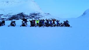 Motoneige-Tromsø-Snowmobile + Ice Domes excursion in Tromsø-4