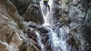 Canyoning-Thuès-Entre-Valls-Canyon de Thuès dans les Pyrénées-4