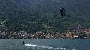 Kitesurf-Lac de Côme-Try Kite Beginner Course 1 hour-3