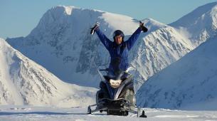 Motoneige-Tromsø-Snowmobile + Ice Domes excursion in Tromsø-1