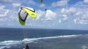 Paragliding-Nusa Dua-Tandem Paragliding flight from Timbis Beach around Nusa Dua, Bali-8