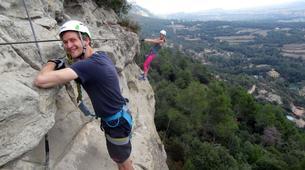 Via Ferrata-Barcelona-Via Ferrata Excursion at Baumes Corcades in Centelles near Barcelona-4