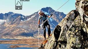 Hiking / Trekking-Lofoten-Trekking and rappel excursion in Eggum, Lofoten-4