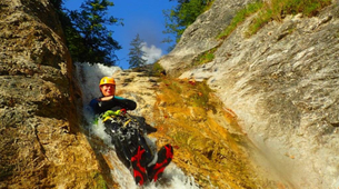 Canyoning-Salzbourg-Canyoning excursion to Fischbach Gorge near Salzburg-3