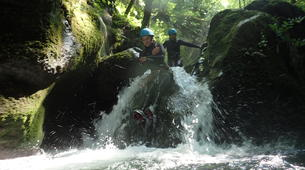 Canyoning-Grenoble-Canyon of Furon Haut in Grenoble-1