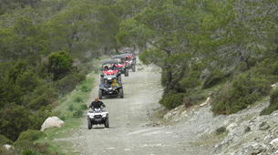 Quad-Paphos-Quad or buggy tour from Coral beach to Adonis Bath, Paphos-1