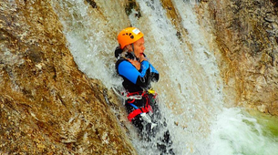 Canyoning-Salzbourg-Canyoning excursion to Fischbach Gorge near Salzburg-2