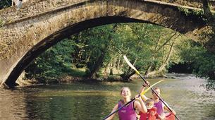 Canoë-kayak-Auxerre-Location de Canoë sur la Cure depuis Saint-Père-5