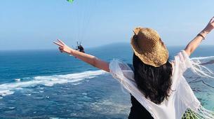 Paragliding-Nusa Dua-Tandem Paragliding flight from Timbis Beach around Nusa Dua, Bali-4