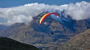Paragliding-Ticino-Tandem paragliding from Monte Tamaro in Ticino-1