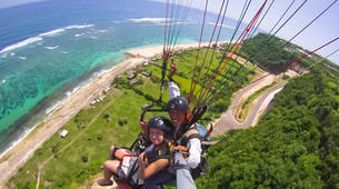 Paragliding-Nusa Dua-Tandem Paragliding flight from Timbis Beach around Nusa Dua, Bali-9