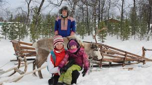 Traîneau à rennes-Tromsø-Reindeer sledding day trip in Tromsø-4