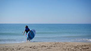 Stand up Paddle-Barcelona-SUP rental at Castelldefels Beach near Barcelona-1