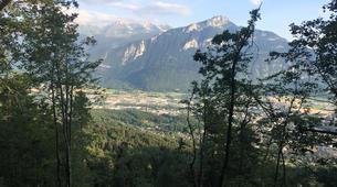 VTT-Annecy-Descente du Semnoz en VTT au-dessus d'Annecy-1