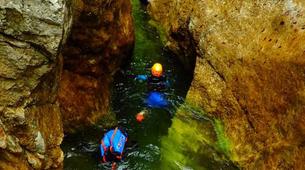 Canyoning-Salzbourg-Canyoning excursion to Strubklamm Gorge near Salzburg-2