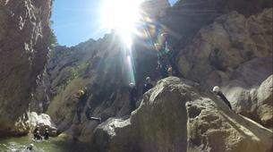 Canyoning-Aude-Canyon Débutant des Gorges de Galamus, dans l'Aude-4