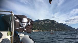Kitesurf-Lac de Côme-Beginner kitesurf course 5 hours in Lake Como-2