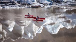 Kayaking-Reykjavik-Kayak in Sólheimajökull Glacier Lagoon-3