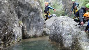 Canyoning-Lac de Garde-Family Canyoning Tour in Lake Garda-3