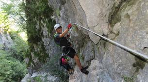 Via Ferrata-Mojstrana-Climbing via ferrata Mojstrana-2