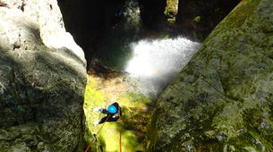 Canyoning-Annecy-Canyon d'Angon à Annecy-6