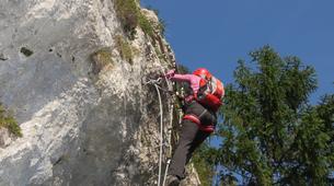 Via Ferrata-Mojstrana-Climbing via ferrata Mojstrana-1
