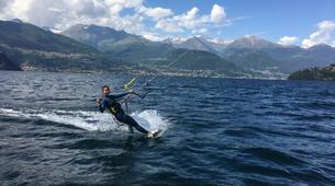 Kitesurf-Lac de Côme-Beginner kitesurf course 5 hours in Lake Como-6