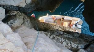 Via Ferrata-Fluminimaggiore-Via Ferrata on the Pan di Zucchero off the coast of Sardinia-6