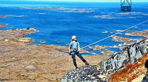 Hiking / Trekking-Lofoten-Trekking and rappel excursion in Eggum, Lofoten-5