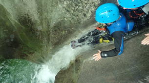Canyoning-Grenoble-Canyon of Furon Haut in Grenoble-5