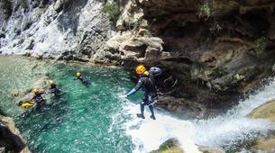 Canyoning-Granada-Canyoning adventure in Rio Verde, Granada-1