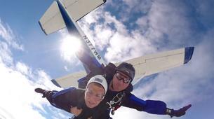Skydiving-Boxberg-Tandem skydive between Stuttgart and Würzburg-3