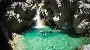 Canyoning-Granada-Canyoning adventure in Rio Verde, Granada-2