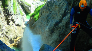 Canyoning-Salzbourg-Canyoning excursion to Fischbach Gorge near Salzburg-1