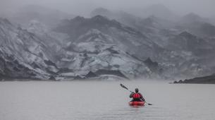 Kayaking-Reykjavik-Kayak in Sólheimajökull Glacier Lagoon-2