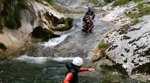 Canyoning-La Molina, Asturias-Pompedru canyon in La Molina near Llanes-5