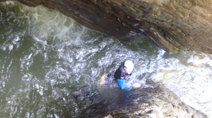 Canyoning-Lechtal-White water swimming, Lechtal-6