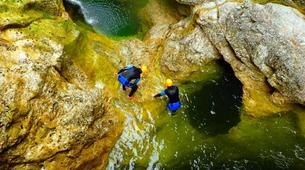Canyoning-Salzbourg-Canyoning excursion to Strubklamm Gorge near Salzburg-3