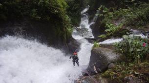 Canyoning-Vega de Pas-Ajan Canyon in Vega de Pas, Cantabria-4