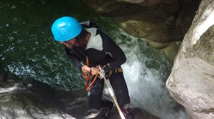 Canyoning-Annecy-Canyon of Montmin near Annecy-3