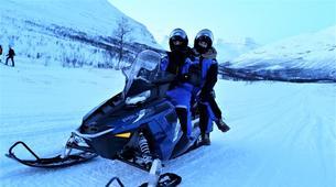 Motoneige-Tromsø-Snowmobile + Ice Domes excursion in Tromsø-6