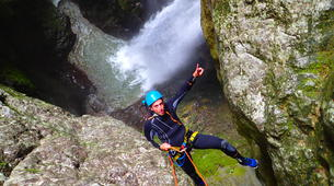 Canyoning-Annecy-Canyon d'Angon à Annecy-3